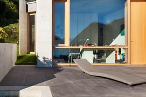 Terrasses en b ton liss namur brabant wallon for Beton lisse exterieur belgique