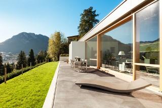 De Haute Qualite Terrasse En Béton Lissé Belles Idees